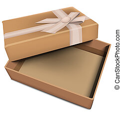 Vector Geschenkkasten