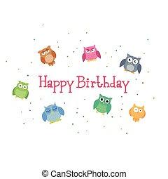 Vector Happy Birthday Design.