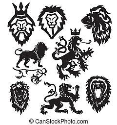 Vector hat das heraldische Symbol stilisiert
