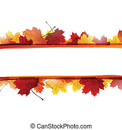 Vector Herbstblätter