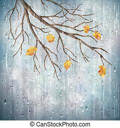 Vector Herbstwetter, Naturdesign