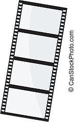 Vector Illustration des Filmbildes
