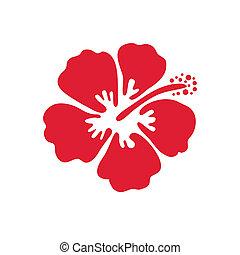 Vector Illustration von Hibiskusblüte.