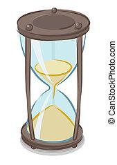 Vector Illustration von Stundenglas