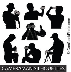 Vector Kameraleute