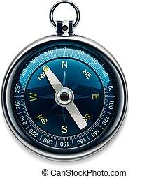 Vector Kompass XXL, detaillierte Icon