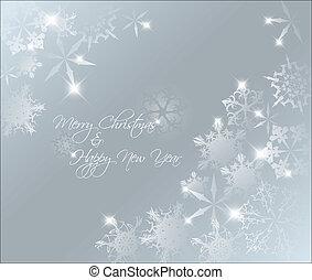 Vector Light Blue, abstrakter Weihnachts Hintergrund