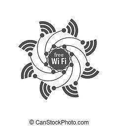 Vector Logo Netzwerk