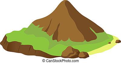 Vector Mountain Illustration