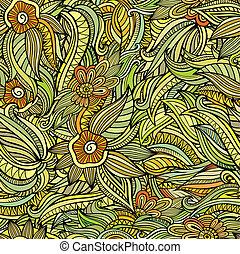 Vector nahtlos abstrakte Blumenmuster