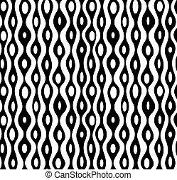 Vector nahtlos abstraktes Monochrommuster