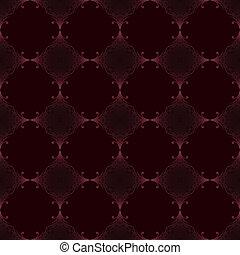 Vector nahtlos altmodisches Muster