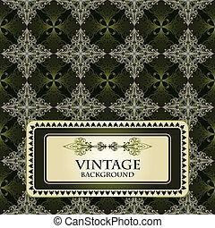 Vector nahtlose Vintage-Muster.