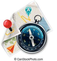 Vector Navigation / Routenkarte XXL