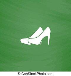 Vector Paar Schuhe