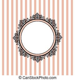 Vector Pink gestreifter Hintergrund