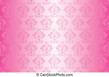 Vector Pink Tapete