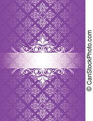 Vector Purple Vintage Hintergrund
