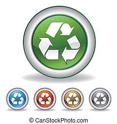 Vector recycelt Icon