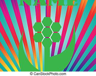 Vector Regenbogenspirale