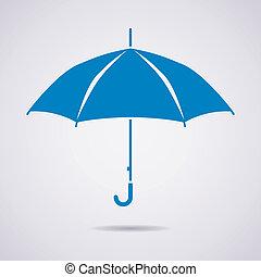 Vector Schirm Ikone.