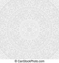 Vector, silberner orientalischer Hintergrund