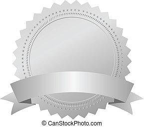Vector Silver Amblem