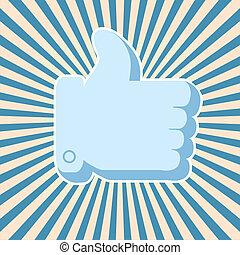 Vector Social Media Konzept