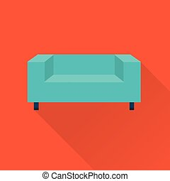 Vector Sofa Ikone.