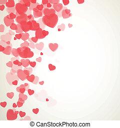 Vector Valentinskarte.