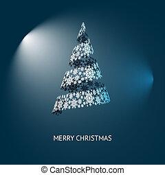 Vector Weihnachtsbaum.