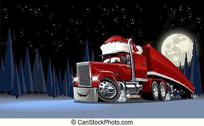 Vector Weihnachtskarte