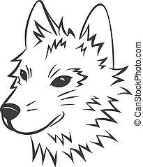 Vector Wolfskopf