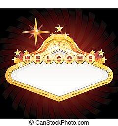 Vegas Casino-Zeichen
