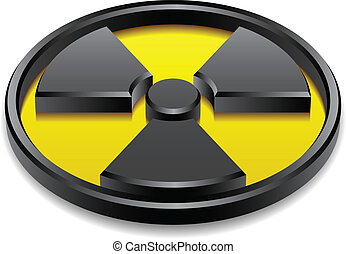 Vektor 3d, glänzendes Strahlensymbol