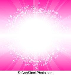 Vektor abstrakter rosa Hintergrund