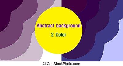 vektor, bild, 2, farben, abstrakt, hintergrund
