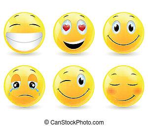 Vektor-Emoticons