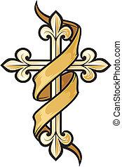 Vektor Illustration des Kreuzes