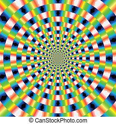 Vektor optische Kunst