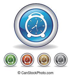 Vektor-Uhr-Ikone