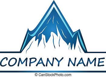 Vektor von Mountain Company Logo