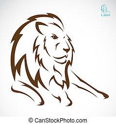 Vektorbild eines Löwen