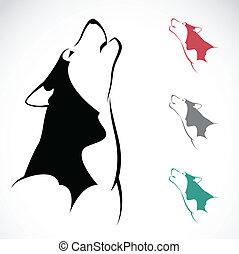 Vektorbild eines Wolfs.