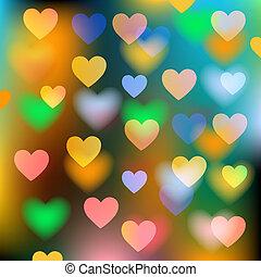 Vektoren-Hintergrund mit Herz deaktivieren