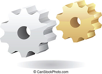 Vektorgetriebe Icon