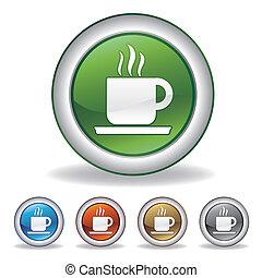 Vektorkaffee-Ikone