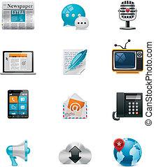 Vektorkommunikation und soziale Medien