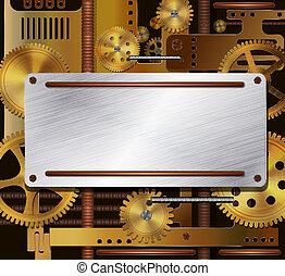 Vektormechanik, Dampf