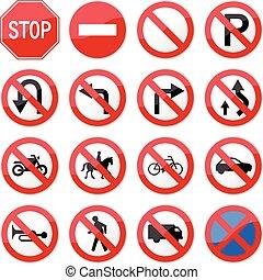 Verbotenes Stoppschild